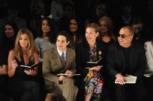 The Judges of Project Runway featuring guest Judge Michael Kors