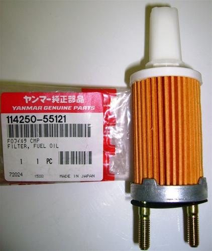 114239-55120, filter, Yanmar, diesel, engine, motor, marine, parts
