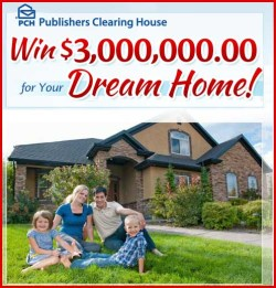 win 3 million dollars for your dream home pch sweepstakes win 3 ...