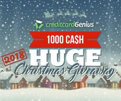$1,000 Christmas Giveaway 2018