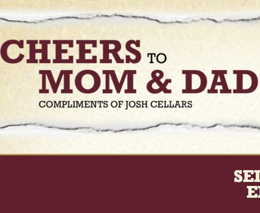 Josh Cellars Cheers To Mom And Dad Sweepstakes