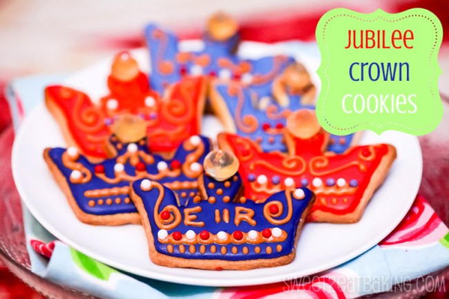 Diamond Jubilee Royal Crown Cookies