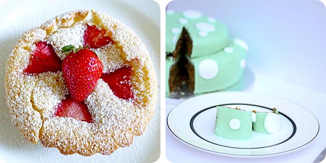 Strawberry Shortcake Tarts | Topsy Turvy Carrot Cake