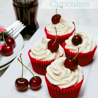 Cherry Coca-Cola (Coke) Cupcakes Recipe
