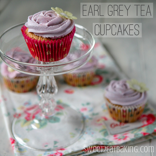 Earl Grey Tea Cupcakes Recipe