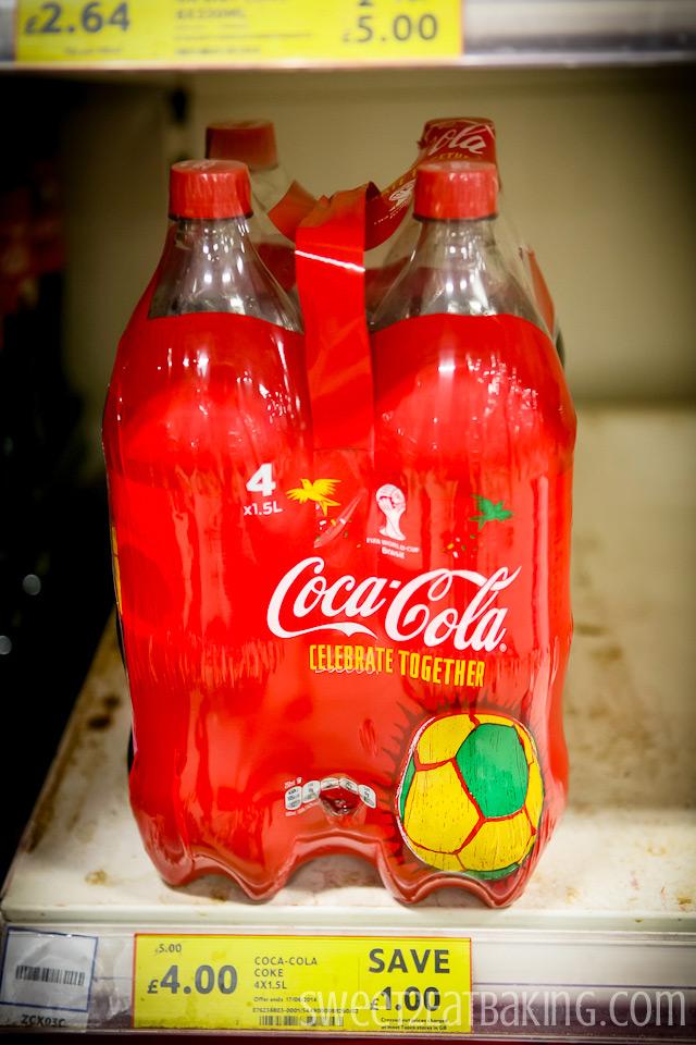 Coca-Cola World Cup Brazil Coke at TESCO