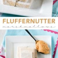 Fluffernutter Marshmallows (Dairy Free)