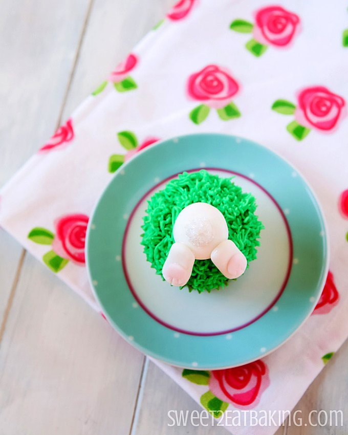 Easter Bunny Cupcakes Recipe by Sweet2EatBaking.com