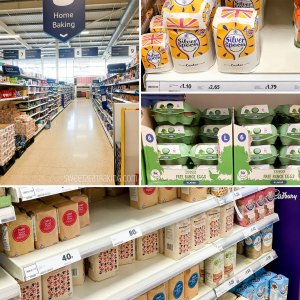 TESCO Home Baking Aisle