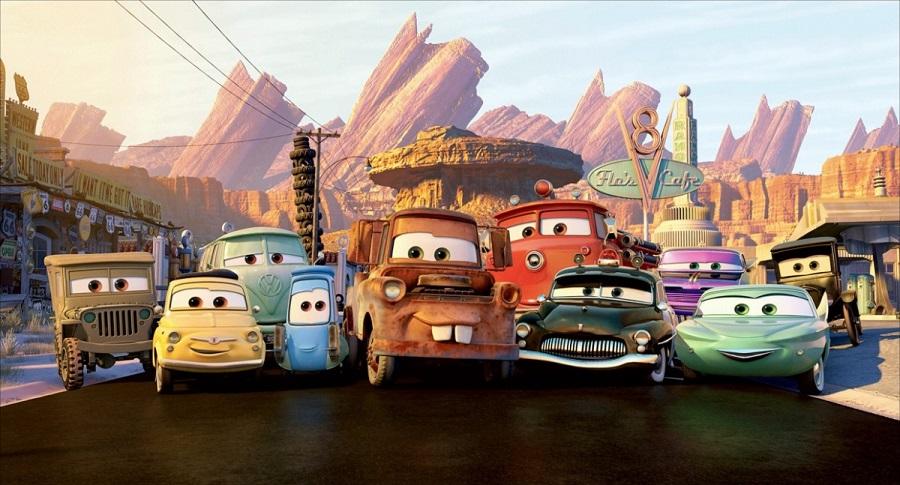 Coloriage Cars Et Cars 2 Et Dessins De Flash Mc Queen