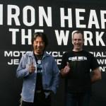 Iron Heart duo Shinichi Haraki & Giles Padmore