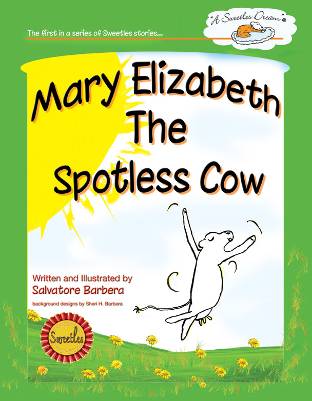 Mary Elizabeth The Spotless Cow printed book