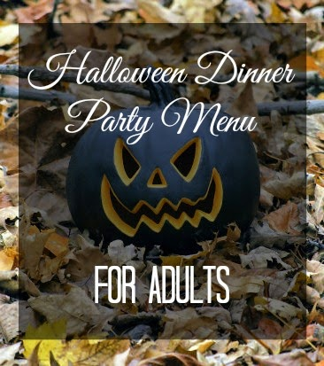 A Halloween Themed Dinner Party, for Adults - Sweet Love and Ginger