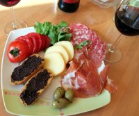Italian Style Cheese Plate - Sweet Love and Ginger