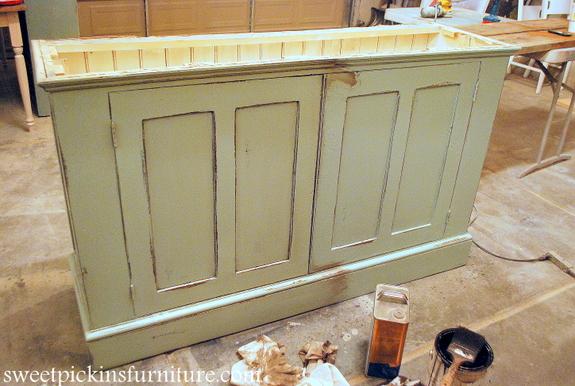 How To Glaze Furniture} – Take 2   Sweet Pickins Furniture