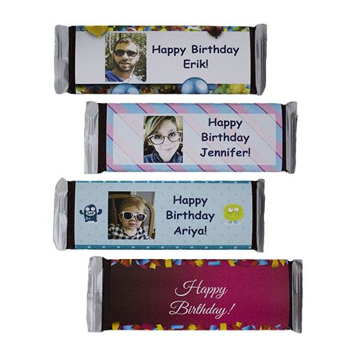 Personalized Candy Bars Custom Candy Wrappers