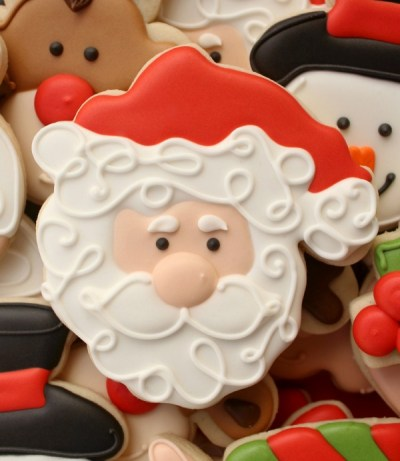 Santa Cookies! 15 Santa Claus Cookies Your Kids Will Love ... - photo#41