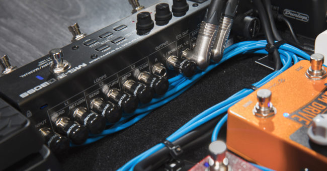 Cable Management For Pedalboards Sweetwater