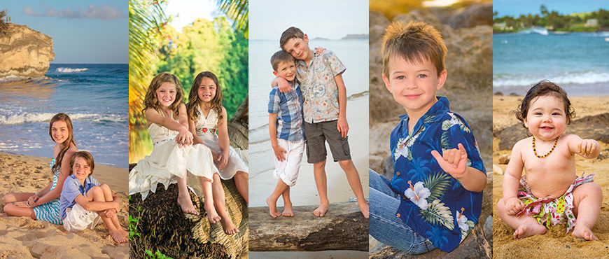 Tips for Portrait Sessions with Kids - Kauai Photographers Swell