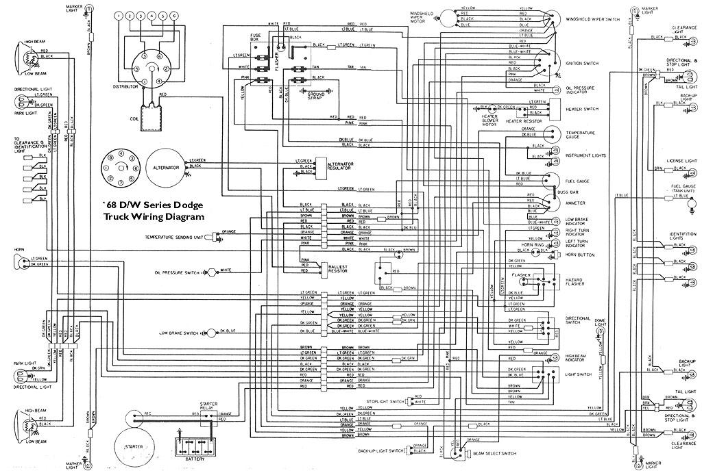 Wiring Diagram For 1966 Dodge Power Wagon Wiring Diagram