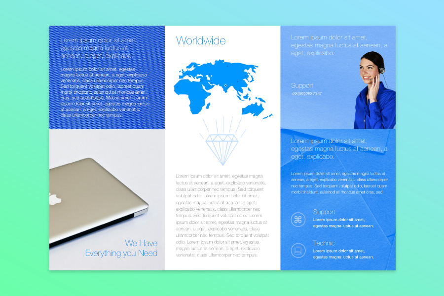 brochure templates for mac
