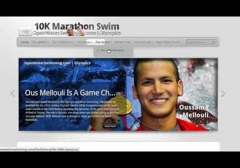 The London 2012 women's 10K Marathon Swim is tomorrow