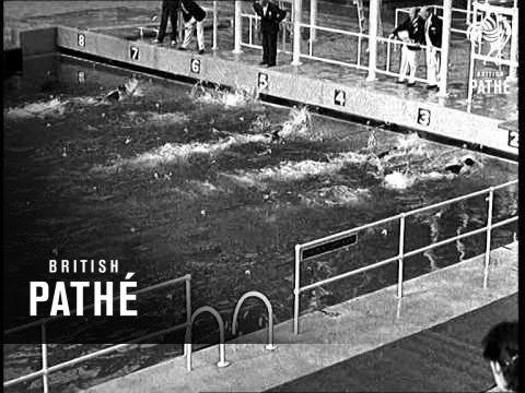 european swimming championships at wembley 1938. Black Bedroom Furniture Sets. Home Design Ideas