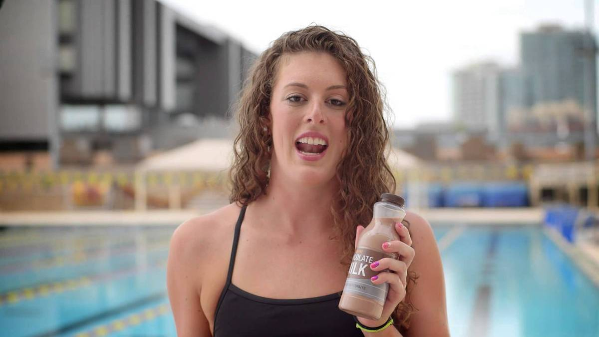 Chocolate Milk After Swimming