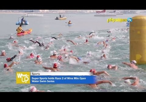 Super Sports holds Race 2 of Mina Mile Open Water Swim Series