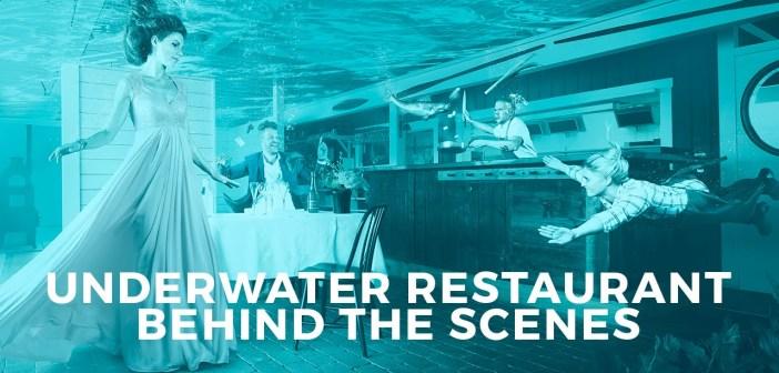 Behind the Scenes: Photographer Composites Incredible Underwater Restaurant Shoot