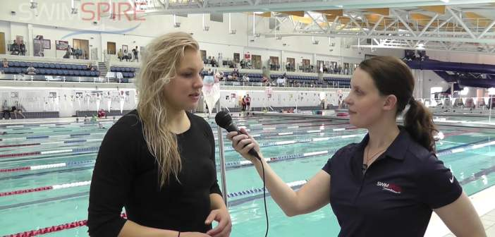 Interview with 2012 Olympic Gold Medalist Ruta Meilutyte