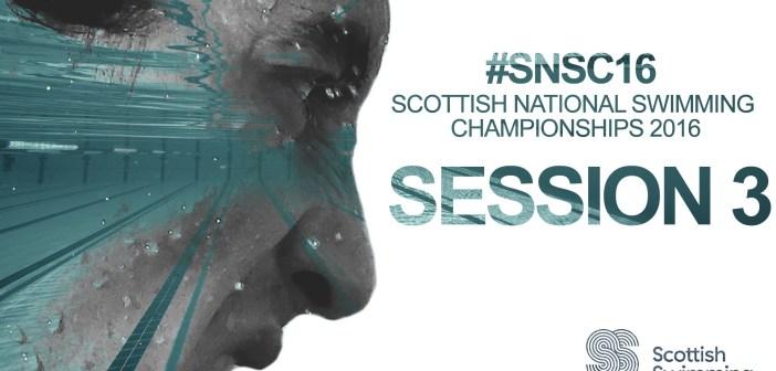 Day 1 Finals: Scottish National Swimming Championships 2016