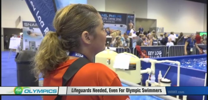 Lifeguards Needed, Even For Olympic Swimmers