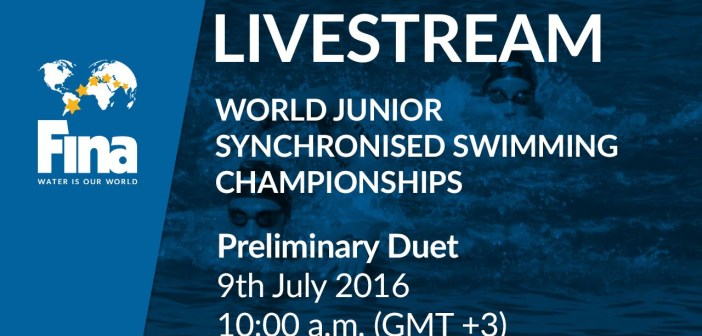 LIVE – Preliminary Duet – FINA World Junior Synchronised Swimming Championships 2016