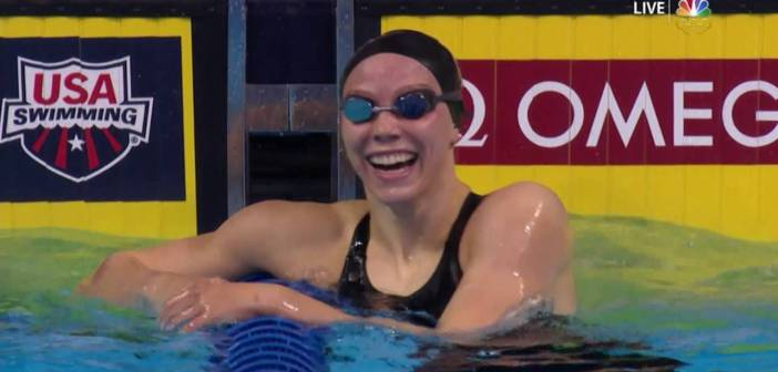 Olympic Swimming Trials | Cammile Adams Claims Rio Berth With 200-Meter Butterfly Win