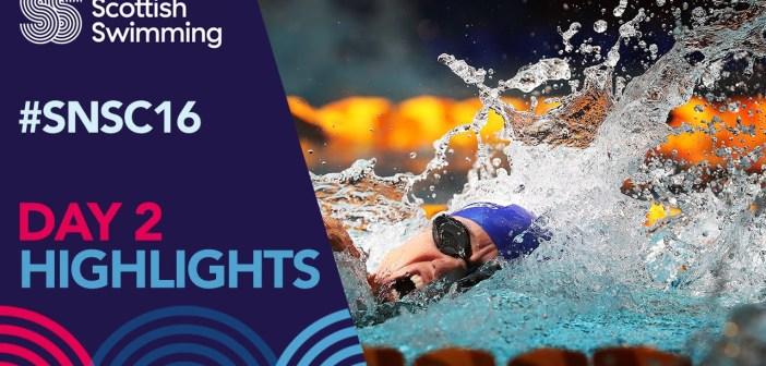 Scottish National Swimming Championships 2016 – Day 2 Highlights