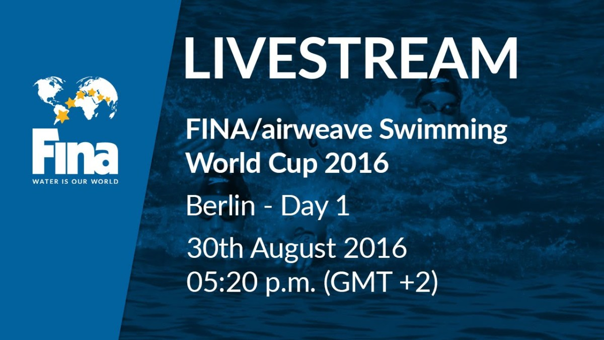 FINA Swimming World Cup 2016 – Berlin (GER) Live Stream