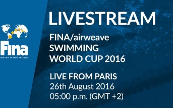 FINA Swimming World Cup 2016 – Paris-Chartres (FRA) Live Stream