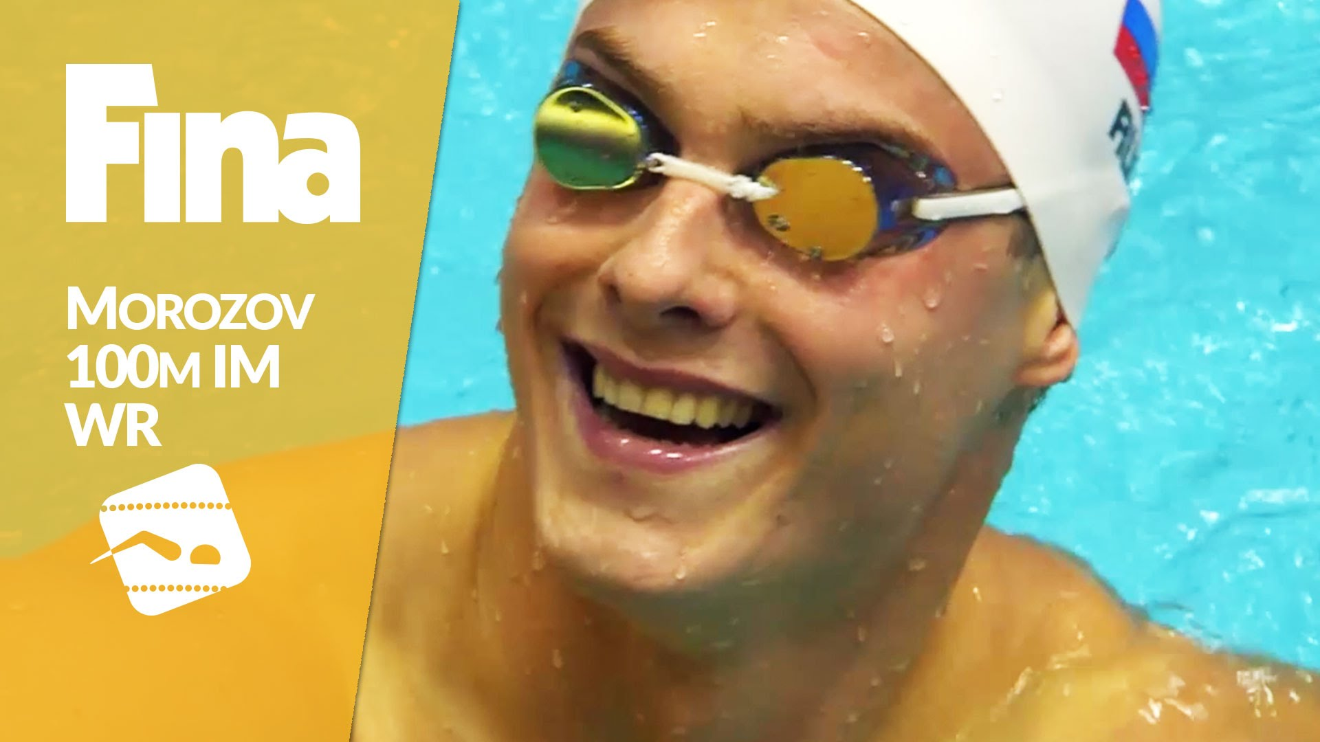 Vladimir Morozov (RUS) 50.30 and new 100 IM World Record