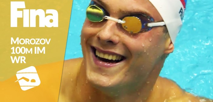 Vladimir Morozov (RUS) 50.30 and new 100 IM World Record