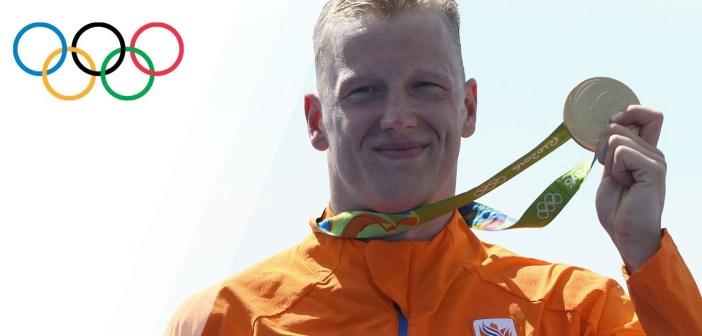 Weertman wins gold in the Men's Open Water 10km Marathon