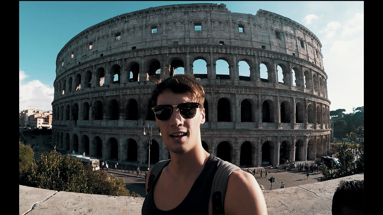 Calvyn Justus flying to Rome to film a swim shoot