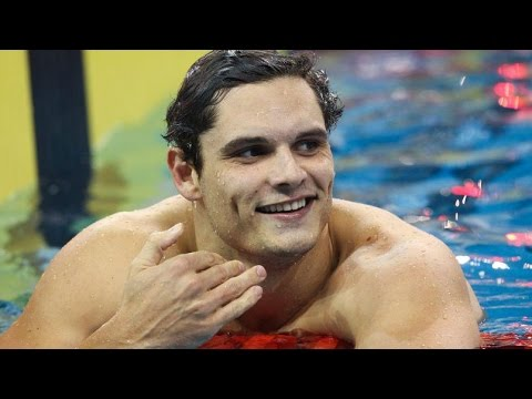 Ex-Olympic champ Manaudou swaps swimming pool for handball