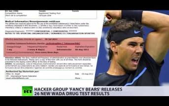 Hackers leak fourth batch of confidential WADA data