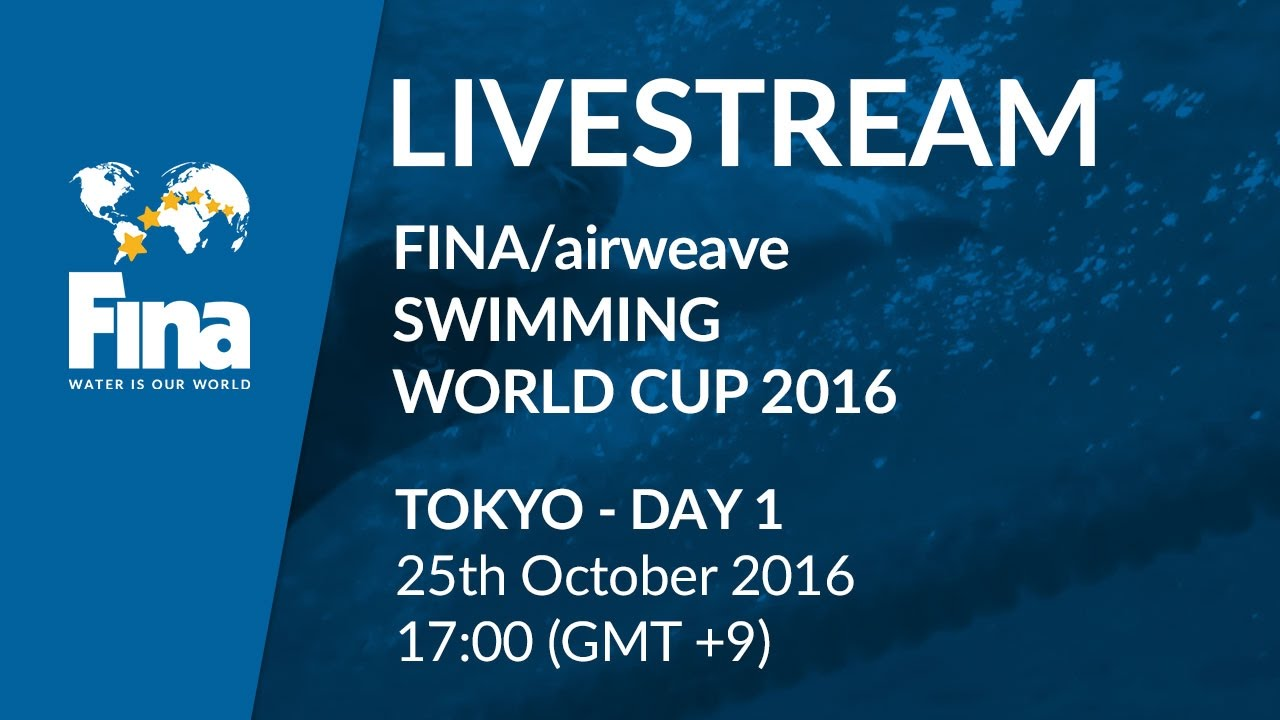 LIVE | Day 1 – FINA/airweave Swimming World Cup 2016 #8 Tokyo