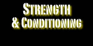 strength & conditioning