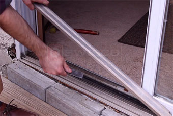 How To Replace A Sliding Glass Door Roller Swiscocom