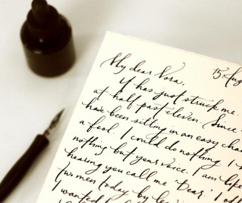 swissmiss Handwritten Love Letter