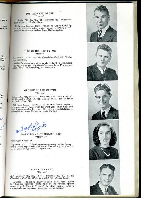 Swiss Army Librarian » yearbook  Brian Herzog