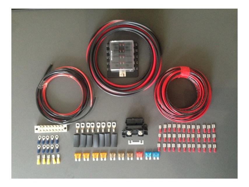 12V Panel Wiring Kit